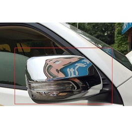 Toyota Prado Side Mirror Chrome Covers With Clips - Model 2009-2018-SehgalMotors.Pk