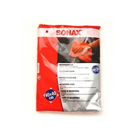 Sonax Microfiber Cloth Exterior 40X40 Cm | Auto Car Natural Drying Clean Cloth | Cleaning Cloth | Car Cleaning Towels Drying Washing Cloth | Car Care Cloth Detailing Car Microfibre Cloth-SehgalMotors.Pk