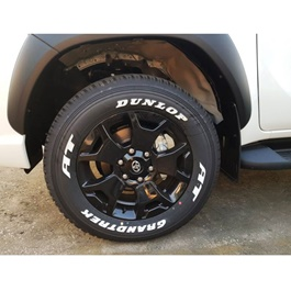 Toyota Rocco Original Type Alloy Rims (Set of 4) - Model 2016-2019 | Oem Style | Original Style Alloy Rim | Strong A+ Quality | Best Quality Hilux Revo Rocco Alloy Rim-SehgalMotors.Pk