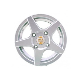 HRS Alloy Rim Blue 114 PCD 4 Hole - 12 inches-SehgalMotors.Pk