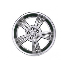G Max Alloy Rim Blue 100 PCD 5 Hole - 16 inches-SehgalMotors.Pk