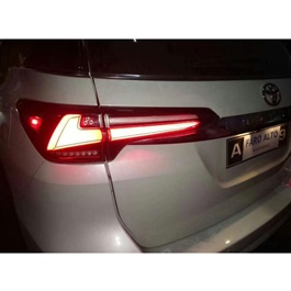 Toyota Fortuner Sequential Lexus Style Back Lamps / Back Lights - Model 2016-2019-SehgalMotors.Pk