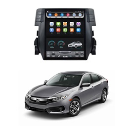 Honda Civic LCD Multimedia System Android GPS Tesla Style IPS Display - Model 2016-2019-SehgalMotors.PK