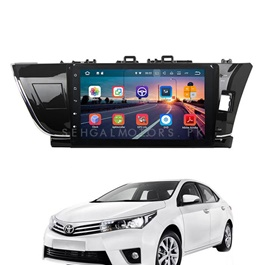 Toyota Corolla LCD Android Panel - Model 2014-2017-SehgalMotors.Pk