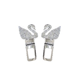 Swarovski Diamond Style Seat Belt Clips - Pair-SehgalMotors.Pk