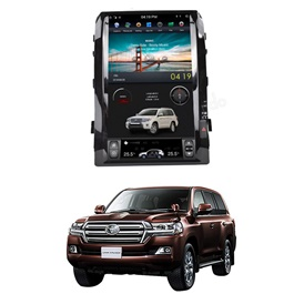 Toyota Land Cruiser ZX LCD Multimedia System Tesla Style IPS Display Full Version - Model 2008-2019-SehgalMotors.Pk