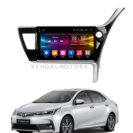 Toyota Corolla Face Lift Android LCD Panel 9 Inch - Model 2017-2019-SehgalMotors.Pk