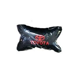 Toyota Logo Neck Rest Pillow - Each | Car Seat Headrest Memory Cotton Soft Breathable Pillow Neck Support Cushion-SehgalMotors.Pk