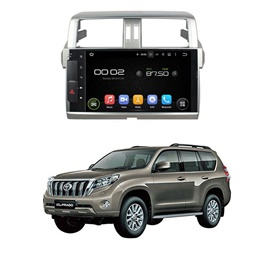 Toyota Prado LCD multimedia IPS Display System Android - Model 2013-2017-SehgalMotors.Pk