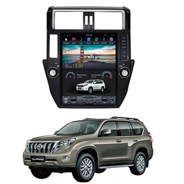 Toyota Prado Tesla Style IPS Display LCD Multimdia System Android 11 Inches  - Model 2009-2013-SehgalMotors.Pk