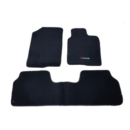 Honda Civic Matte Black Carpet Floor Mat - Model 2016-2020-SehgalMotors.Pk