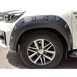 Toyota Hilux Revo X-treamer Fender Flare Wheel Arch Matt - Model 2016-2020-SehgalMotors.Pk