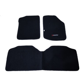 Honda City Matte Black Carpet Floor Mat - Model 2017-2020-SehgalMotors.Pk