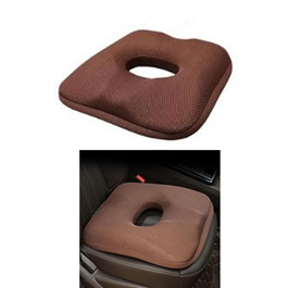 Car Back Care Summer Cool Seat Cushion - Brown-SehgalMotors.Pk
