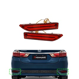 Honda City Brake Bumper Lava Style - Model 2015-2019-SehgalMotors.Pk
