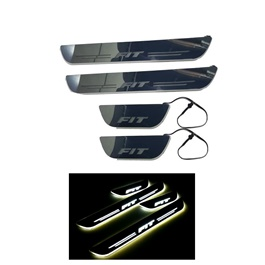Honda Fit LED Sill Plates / Skuff LED panels - Model 2013-2019	-SehgalMotors.Pk