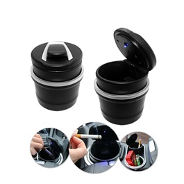 Mini BMW Portable Car Ashtray For Smokers with LED-SehgalMotors.Pk