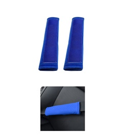 Fancy Sporty Seat Belt Covers Blue Color-SehgalMotors.Pk