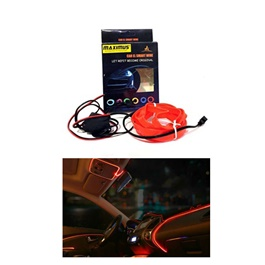 Maximus EL Glow Wire for Interior 2Meters (6ft) - Red-SehgalMotors.Pk
