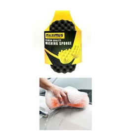 Maximus Double Sponges Black Yellow MX-WS001