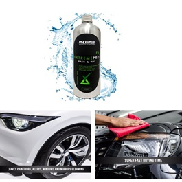 Maximus Extreme Pro Wash & Wax Shampoo E6 500ml  | Car Shampoo | Car Cleaning Agent | Car Care Product | 2 in 1 Product | Glossy Touch Shampoo | Mirror Like Shine