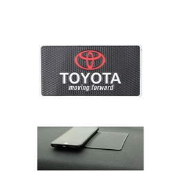 Toyota Moving Forward Non Slip / Anti Skid Mat For Dashboard-SehgalMotors.Pk