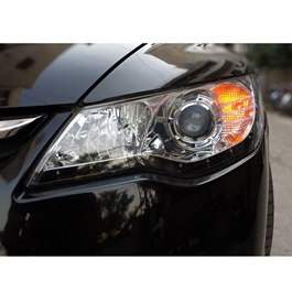 Honda Civic Headlight / Head Lamp Projection Black V3 - Model 2006-2012
