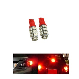 Maximus SMD 28 Parking Light Red - Pair | Led Light Bulb For Parking | SMD Car I Exterior Lamps Parking Lights Car Accessories-SehgalMotors.Pk