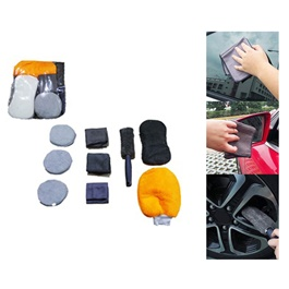 Car Wash Kit- 9 pcs