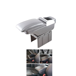 Honda BRV Arm Rest with Chrome Grey - Model 2017-2019-SehgalMotors.Pk