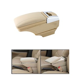 Honda BRV Arm Rest with Chrome Beige - Model 2017-SehgalMotors.Pk