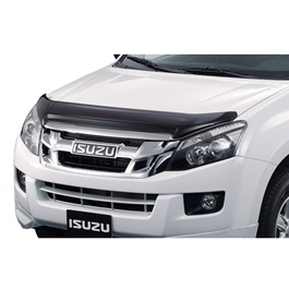 Isuzu D-Max Tinted Bonnet Guard - Model 2018-2019