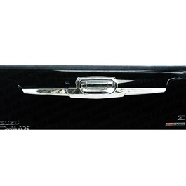 Isuzu D-Max / DMax / D Max Chrome Tailgate Garnish - Model 2018-2021