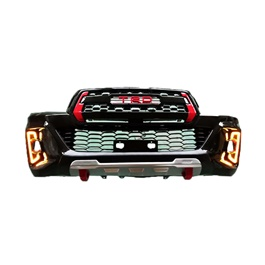 Toyota Hilux Rocco TRD Grill With DRL and RBS Lips - Model 2016-2019-SehgalMotors.Pk