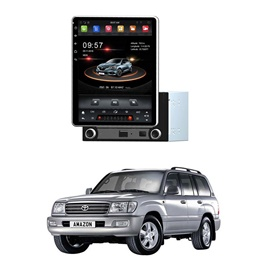 Toyota Land Cruiser Rotatable Android Tesla IPS LCD Pannel - Model 1998-2007-SehgalMotors.Pk