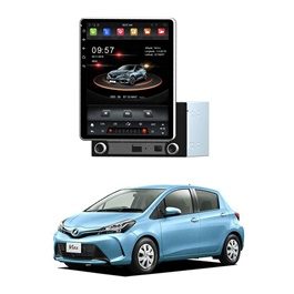 Toyota Vitz Rotatable Android Tesla IPS LCD panel - Model 2014-2019-SehgalMotors.Pk