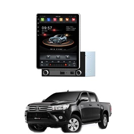 Toyota Hilux Revo Rotatable Android Tesla IPS LCD panel - Model 2014-2017-SehgalMotors.Pk