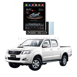 Toyota Hilux Vigo Rotatable Android Tesla LCD Pannel - Model 2005-2016-SehgalMotors.Pk