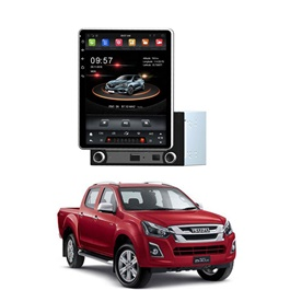 Isuzu D-Max Hilander Rotatable Android Tesla LCD Pannel - Model 2018-2019
