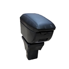 Honda BRV 4 Usb Genuine Custom Fit Arm Rest Black - Model 2017-2019-SehgalMotors.Pk