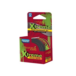 California Scents Xtreme Air Freshener Car Perfume Fragrance - Twister Berry-SehgalMotors.Pk