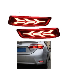 Toyota Corolla Lamborghini Style Running Brake Lamps - Model 2017-2019