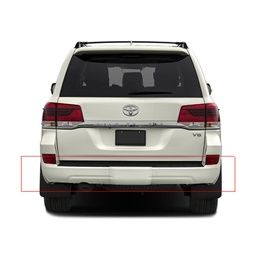 Toyota Land Cruiser V8 Facelift Back Bumper - Model 2015-2018-SehgalMotors.Pk