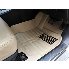 Toyota Corolla Face Lift 5D Custom Floor Mat Beige - Model 2017-2020-SehgalMotors.PK