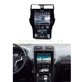 Toyota Prado New LCD Multimedia System Android - Model 2018-2019