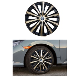Wheel Cover ABS Golden Black 15 Inches - WMI-1GL-15-SehgalMotors.Pk