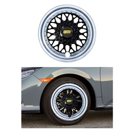 BBS Wheel Cover Full Chrome - 14 inches-SehgalMotors.Pk