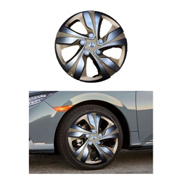Wheel Cover ABS Silver Gold 15 Inches - WX1-3GL-15-SehgalMotors.Pk