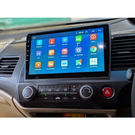 Honda Civic Android LCD IPS Multimedia System Version 2 - Model  2006-2012-SehgalMotors.Pk