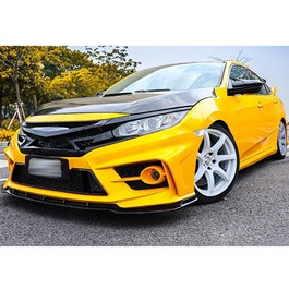 Honda Civic New FC 450 Style Body Kit / Bodykit Front and Back Bumper - Model 2016-2019-SehgalMotors.Pk